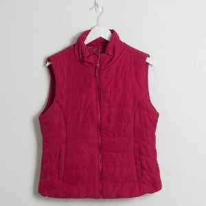 3 for $20 | NEW Aeropostale Dark Pink Outdoor Vest